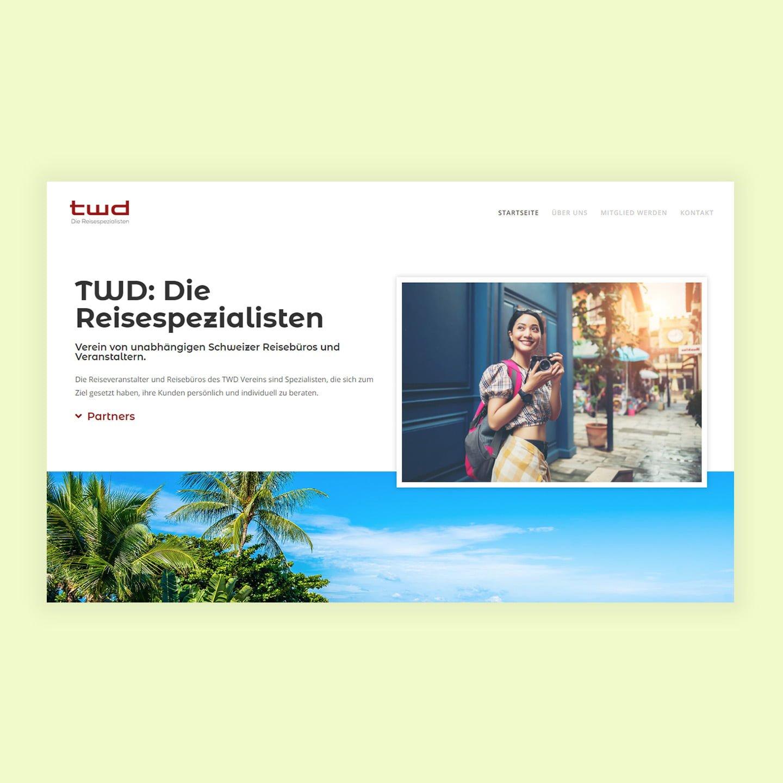 twd website erstallung design
