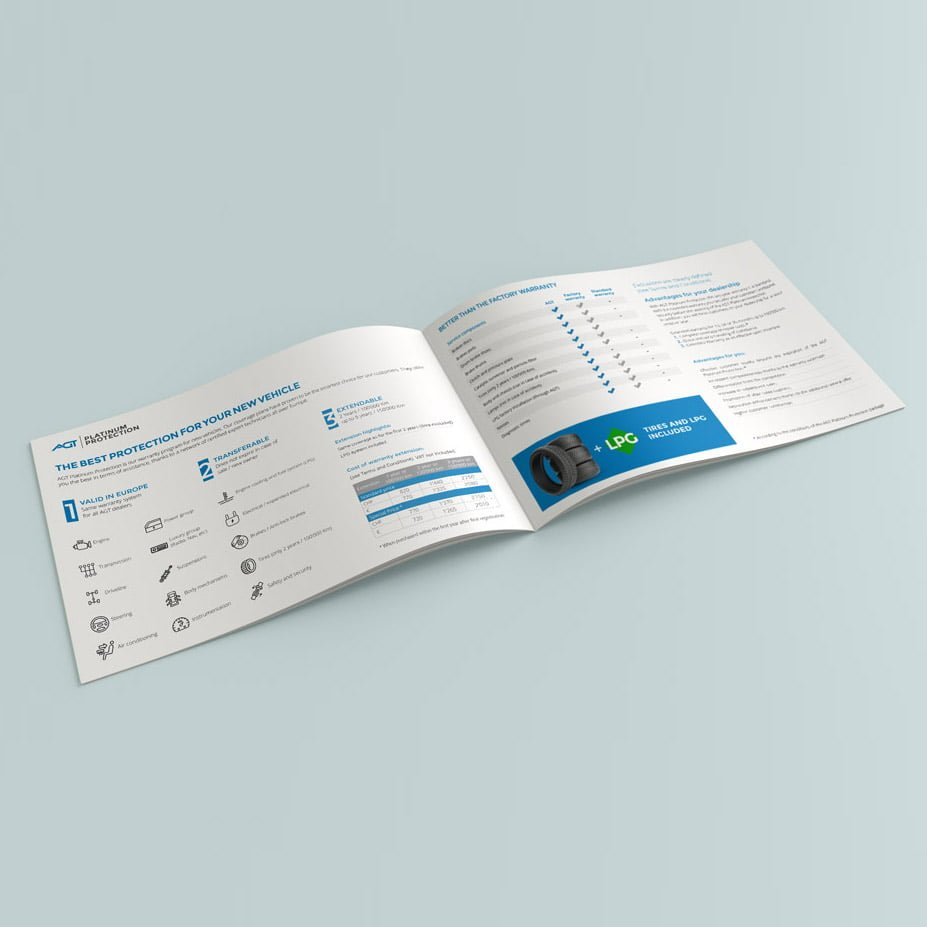 booklet design broschueren | AJMS Marketing