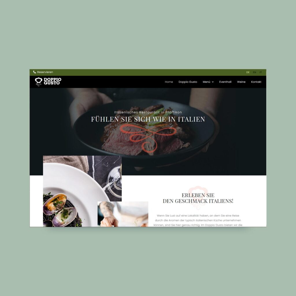 Web Projekt AJ Management Srvices AG Marketing Agentur Digital